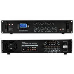 Keverő erősítő USB SD MP3 és Bluetooth zenelejátszóval MPA 240BT
