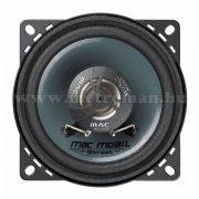 Mac Audio MacMobilStreet 10.2 10 cm-es kétutas koaxiális hangszóró pár