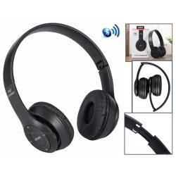 Bluetooth fejhallgató SD MP3 lejátszóval és FM rádióval MP47BT
