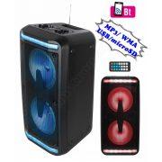 Hordozható MP3 USB/microSD Bluetooth multimédia hangfal karaoke funkcióval PAR219BT