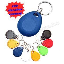 Proxy beléptető kártya kulcstartóra 100 darabos csomag