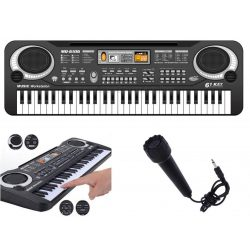 Mini szintetizátor Karaoke mikrofonnal MQ-6106