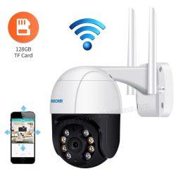 Vezeték nélküli Android iOS Wifi SD kártyás megfigyelőkamera MQF218-FHD