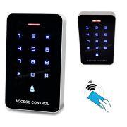 Érintőgombos kód és kártyás beléptető RFID-M226