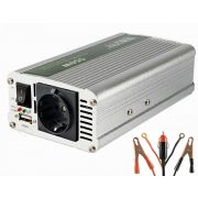 Feszültségátalakító, inverter, 12/230V 500/1000 Watt, SAI 100 USB