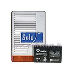 Kültéri sziréna riasztókhoz, SOLO, akkumulátorral