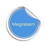 Autós LED izzó sárga, 5 db szuperfényes SMD LED-del, T105SMD5050LED