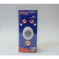 Elektromos ultrahangos egér, bolha, pók riasztó, Weitech WK 0523