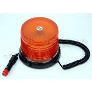 Megkülönböztető jelzés, villogó narancs sárga LED-es, 12/24V WL61Y E9