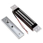 Elektromos síktapadós mágneszár süllyesztve szerelhető 280kg MY280N-12VDC
