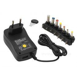 Univerzális hálózati adapter, tápegység 3-12V 2 Amper USB töltő  ZI2000USB