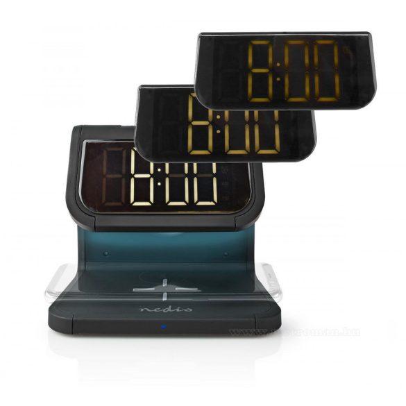 Vezeték nélküli telefontöltő és Ébresztőóra Q10W1BK