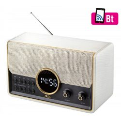 Hordozható Retro rádió és USB/SD MP3 Bluetooth Multimédia Zenelejátszó RRT 5BT