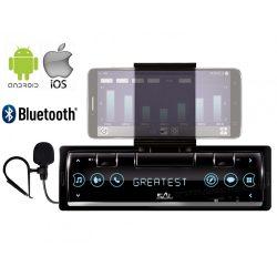 iOS/Android vezérlésű Bluetooth autórádió VoxBox VB 8000BT Smart