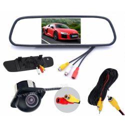 """Tolatókamera szett 5""""-os tükör LCD monitorral MM4130-0229"""
