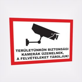 Figyelmeztető táblák, matricák
