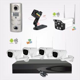 Biztonsági megfigyelő kamerák