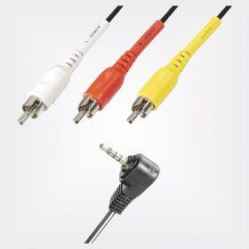 Audio kábel, csatlakozó