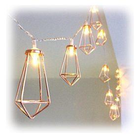 Elemes LED fényfüzér