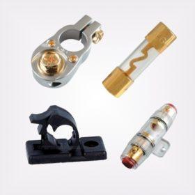 Autóhifi kábel és szerelési anyagok